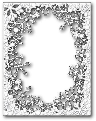 Нож «Dancing Snowflake Frame»