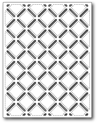 Нож «Stitched Lattice Background»