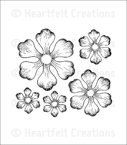 Штамп «Arianna Blooms Cling Stamp Set»