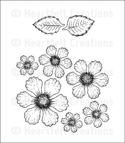 Штамп «Botanical Rose Cling Stamp Set»