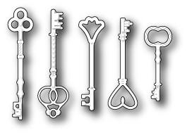 Нож «Vintage Key Set»