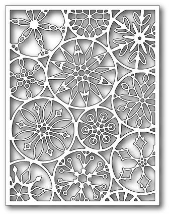 Нож «Mod Snowflake Background»