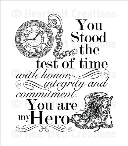 Штамп «My Hero Cling Stamp Set»