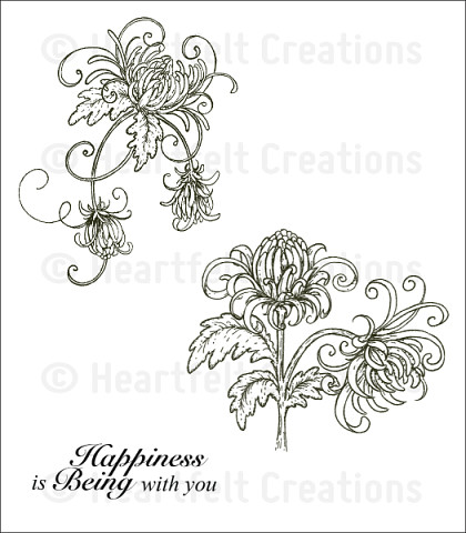 Штамп «Single Enchanted Mum Cling Stamp Set»